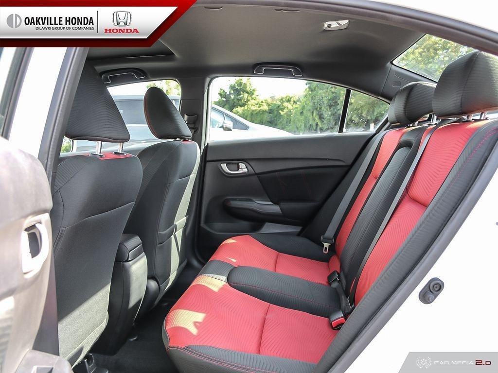 2014 Honda Civic Sedan SI 6MT in Oakville, Ontario - 24 - w1024h768px