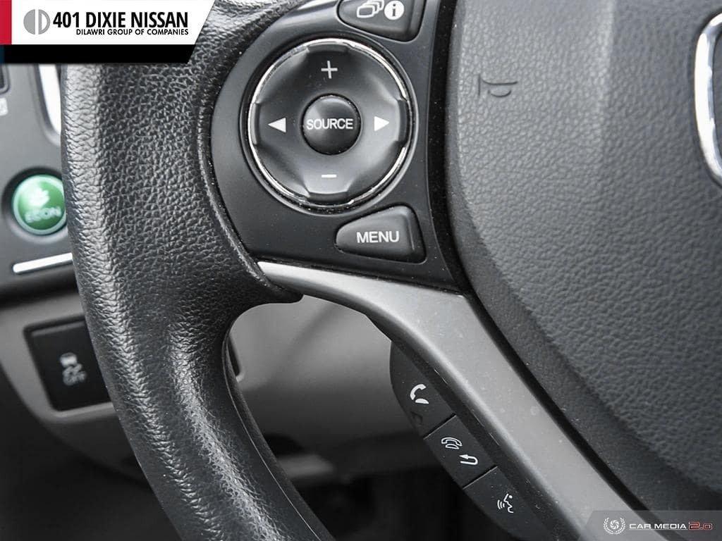 2015 Honda Civic Sedan LX CVT in Mississauga, Ontario - 18 - w1024h768px