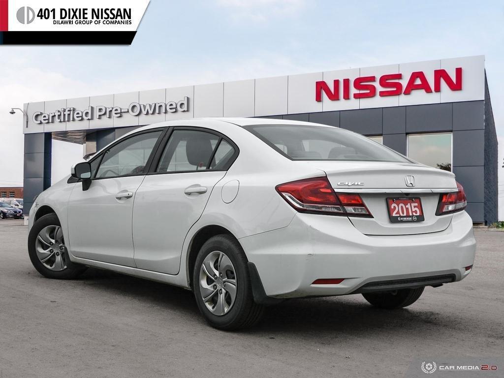 2015 Honda Civic Sedan LX CVT in Mississauga, Ontario - 4 - w1024h768px