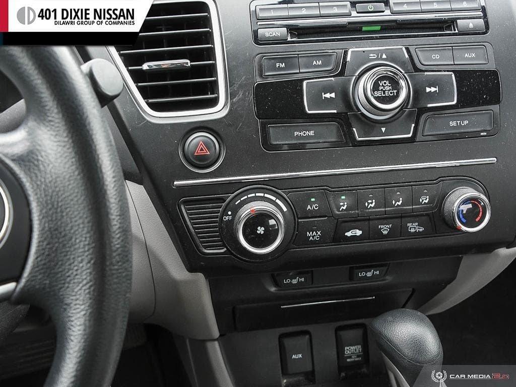 2015 Honda Civic Sedan LX CVT in Mississauga, Ontario - 20 - w1024h768px