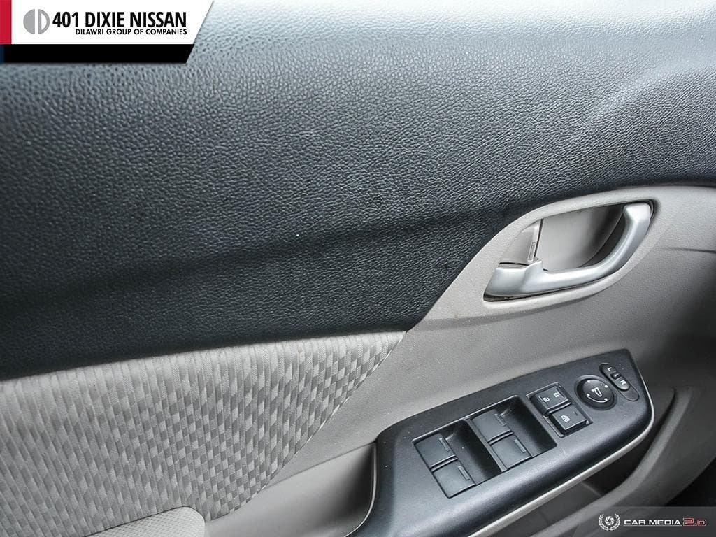 2015 Honda Civic Sedan LX CVT in Mississauga, Ontario - 17 - w1024h768px