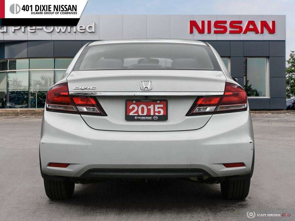 2015 Honda Civic Sedan LX CVT in Mississauga, Ontario - 5 - w1024h768px