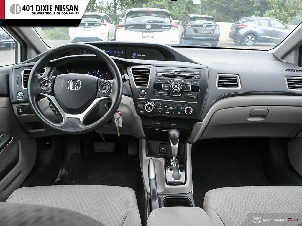 2015 Honda Civic Sedan LX CVT in Mississauga, Ontario - 25 - w1024h768px