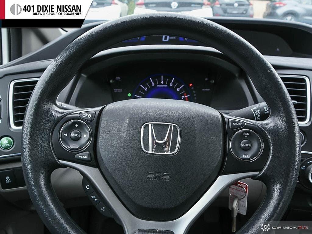 2015 Honda Civic Sedan LX CVT in Mississauga, Ontario - 14 - w1024h768px
