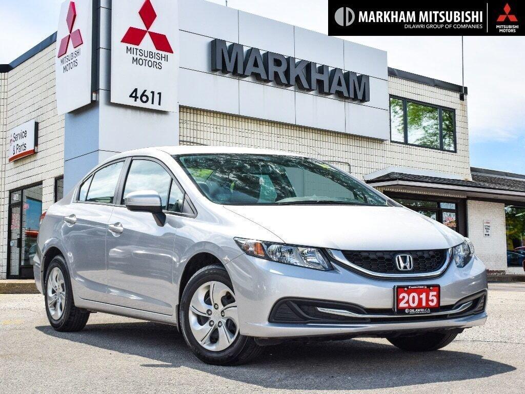 2015 Honda Civic Sedan LX CVT in Markham, Ontario - 1 - w1024h768px