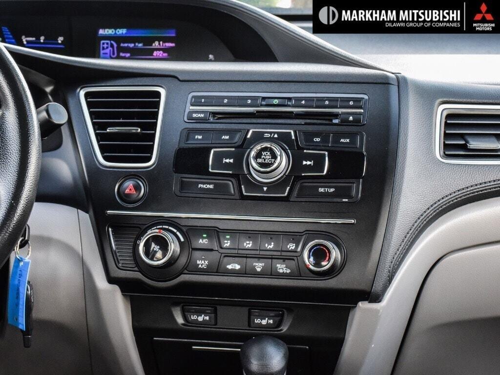 2015 Honda Civic Sedan LX CVT in Markham, Ontario - 19 - w1024h768px