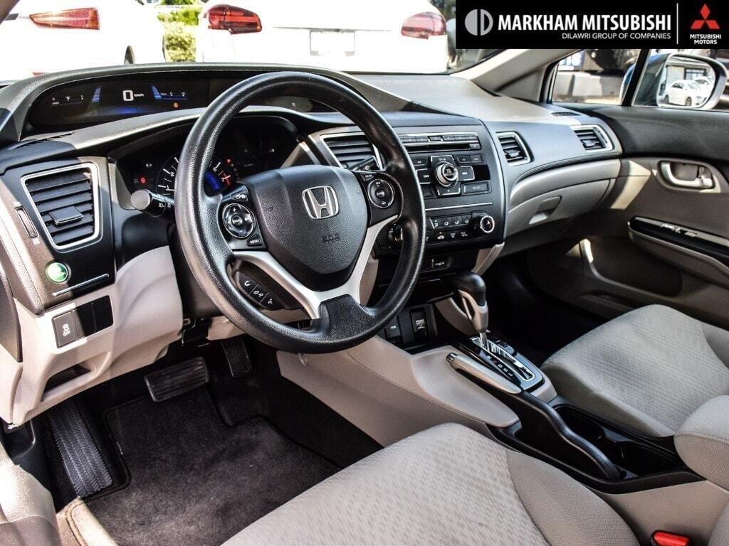 2015 Honda Civic Sedan LX CVT in Markham, Ontario - 10 - w1024h768px