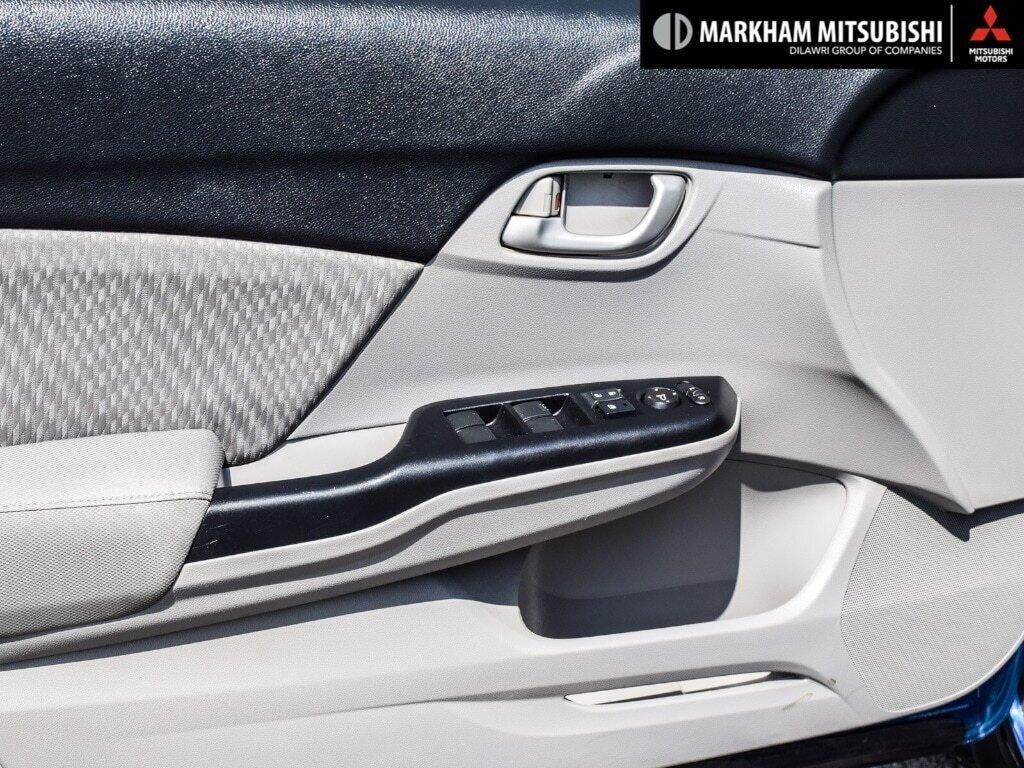 2015 Honda Civic Sedan LX CVT in Markham, Ontario - 25 - w1024h768px
