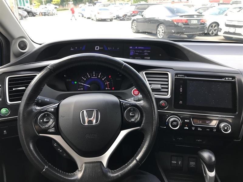2015 Honda Civic Sedan EX CVT in Mississauga, Ontario - 9 - w1024h768px