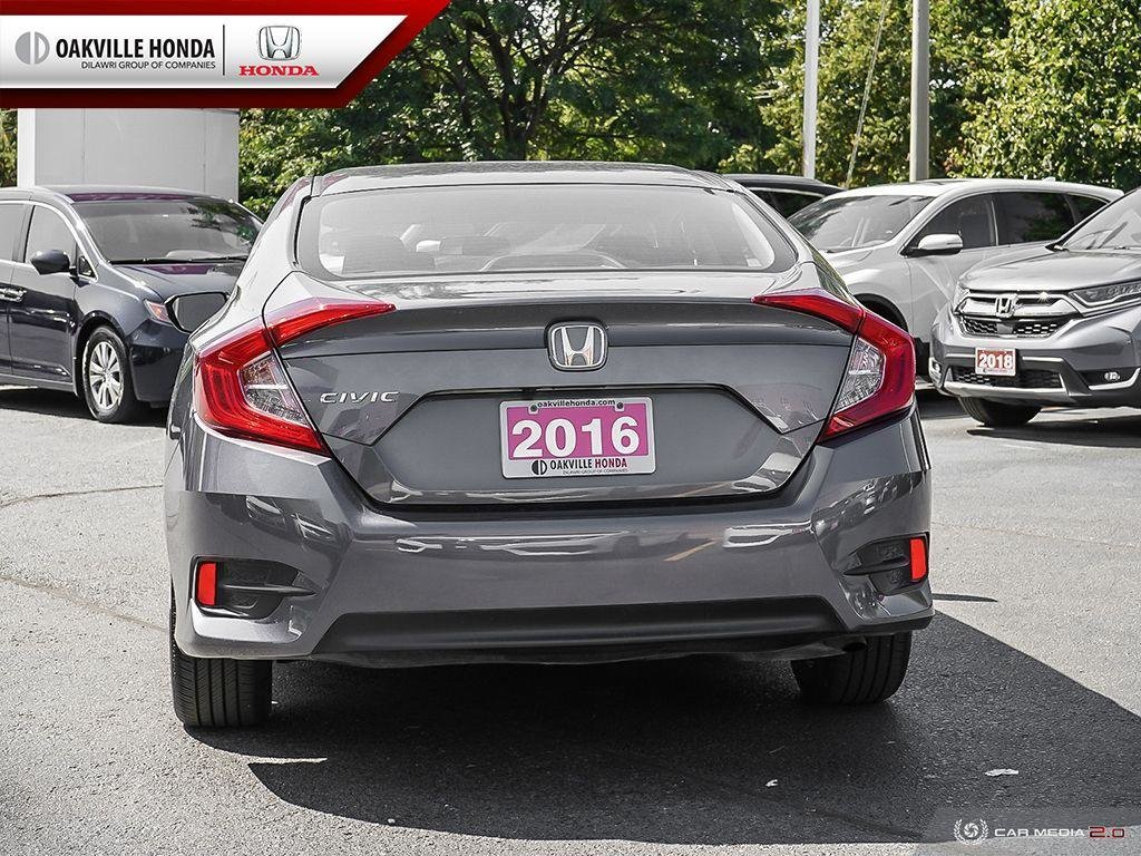 2016 Honda Civic Sedan LX CVT in Oakville, Ontario - 5 - w1024h768px