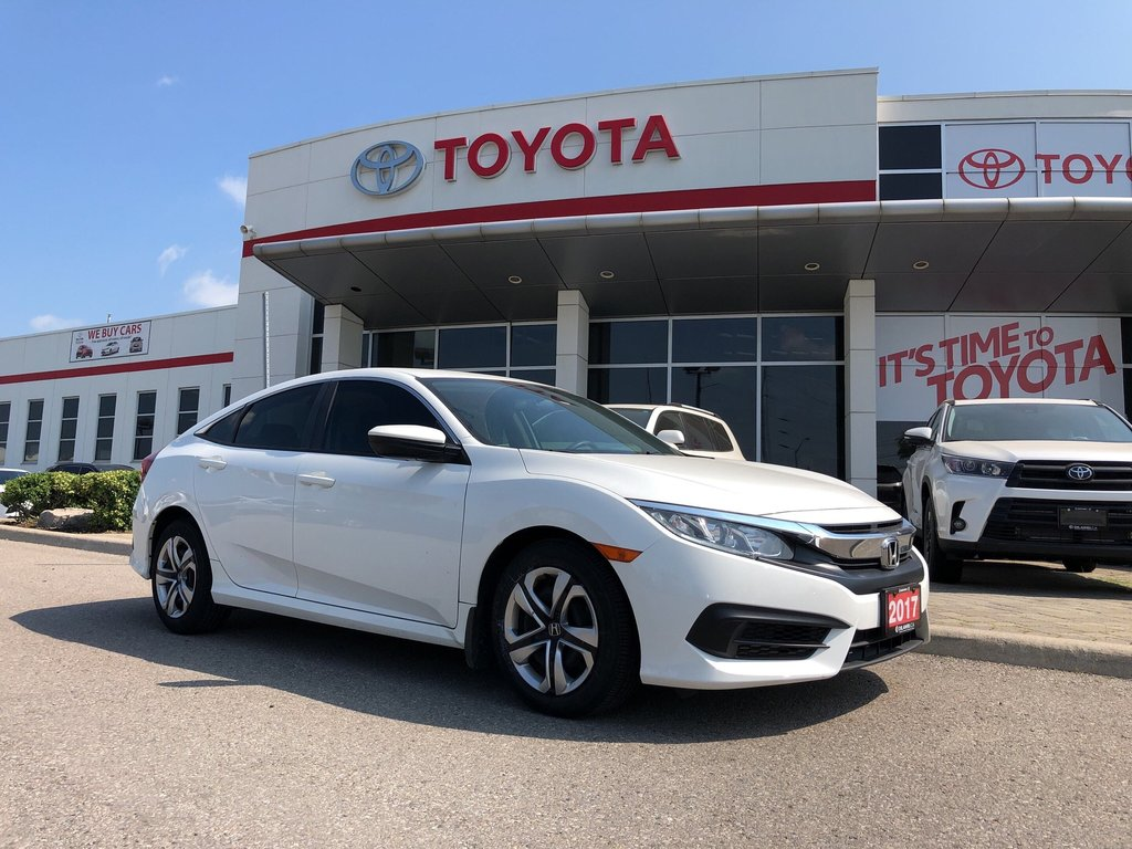 2017 Honda Civic Sedan LX CVT in Bolton, Ontario - 1 - w1024h768px