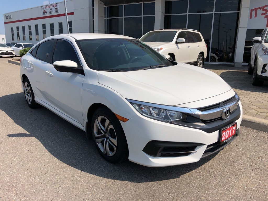 2017 Honda Civic Sedan LX CVT in Bolton, Ontario - 4 - w1024h768px