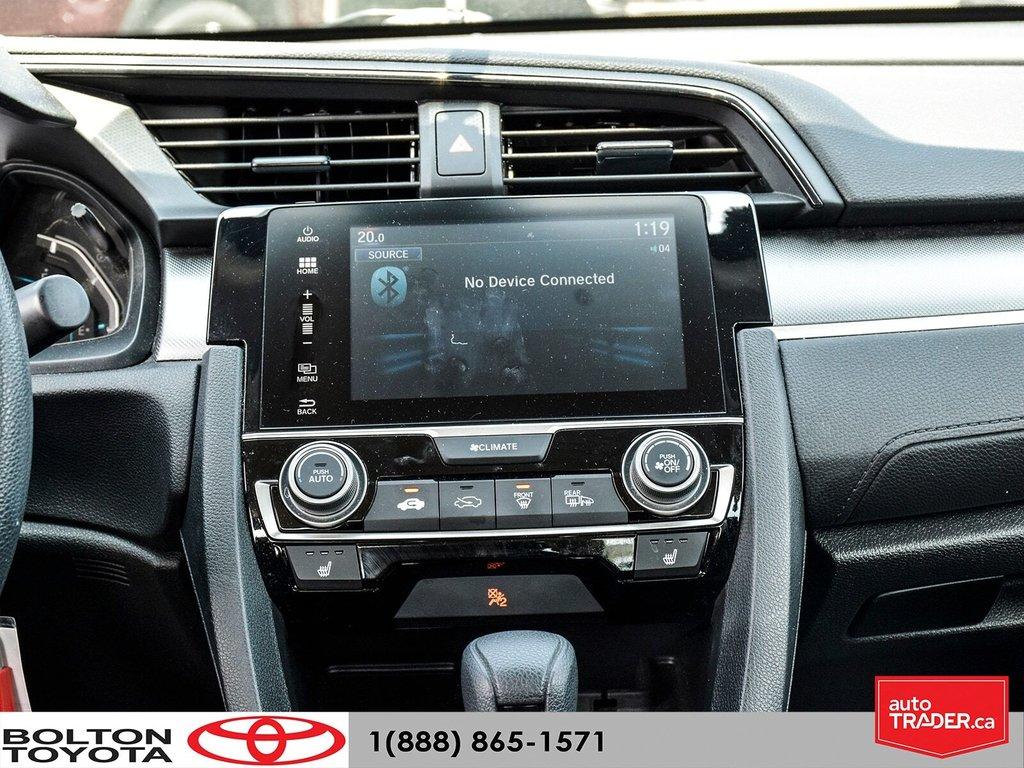 2017 Honda Civic Sedan LX CVT in Bolton, Ontario - 18 - w1024h768px