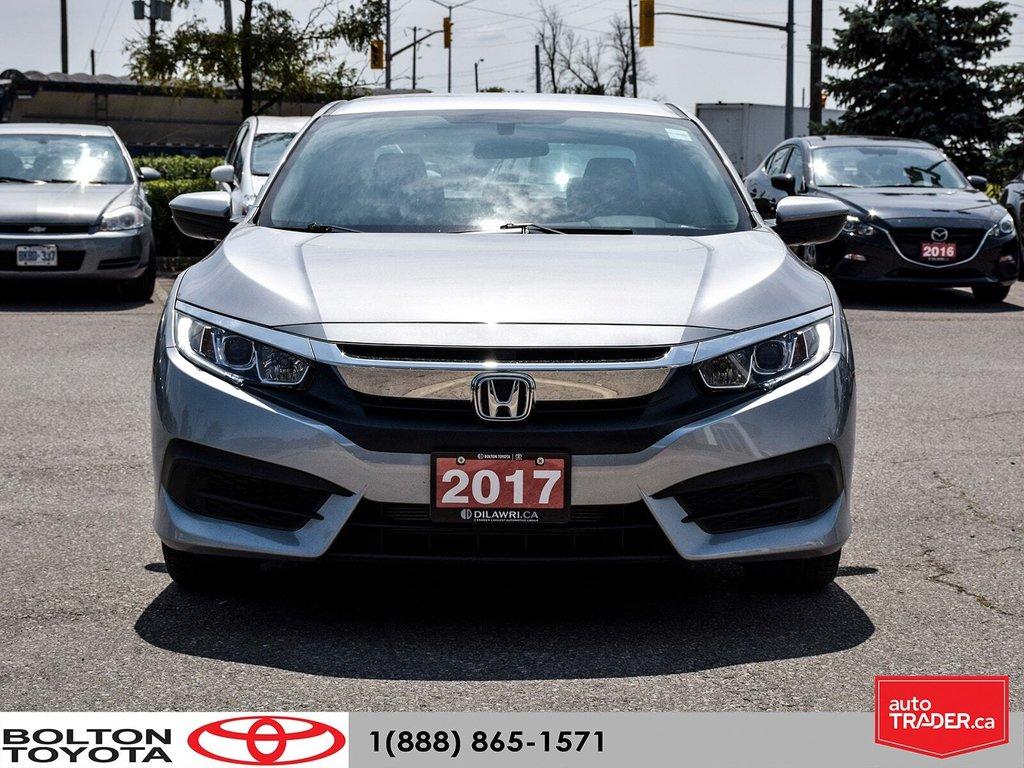 2017 Honda Civic Sedan LX CVT in Bolton, Ontario - 2 - w1024h768px