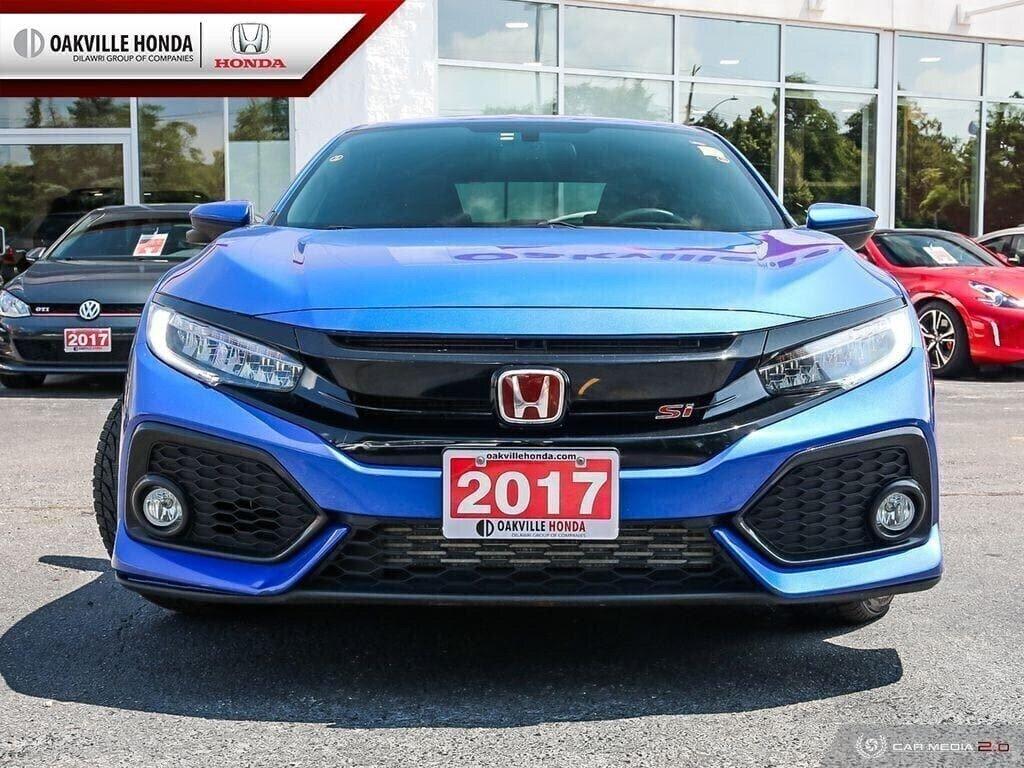 2017 Honda Civic Sedan SI 6MT in Oakville, Ontario - 2 - w1024h768px
