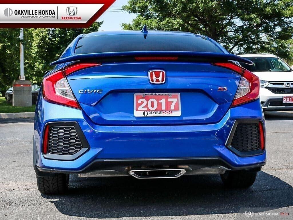 2017 Honda Civic Sedan SI 6MT in Oakville, Ontario - 5 - w1024h768px