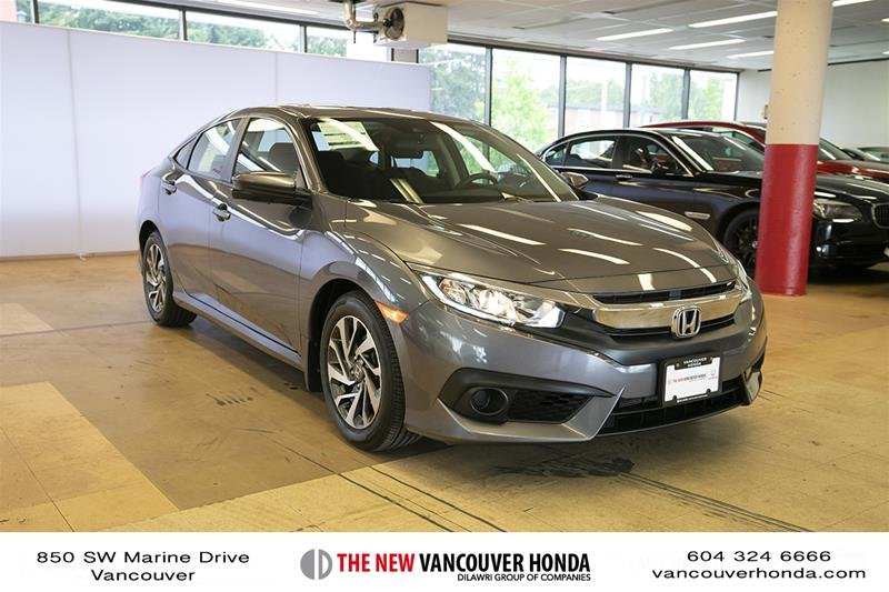 2018 Honda Civic Sedan EX CVT in Vancouver, British Columbia - 3 - w1024h768px