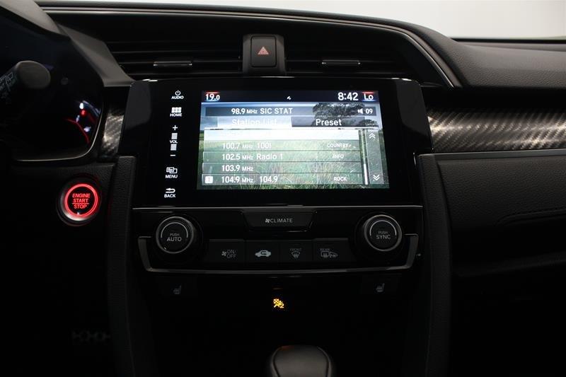2018 Honda Civic Hatchback Sport HS CVT in Regina, Saskatchewan - 7 - w1024h768px