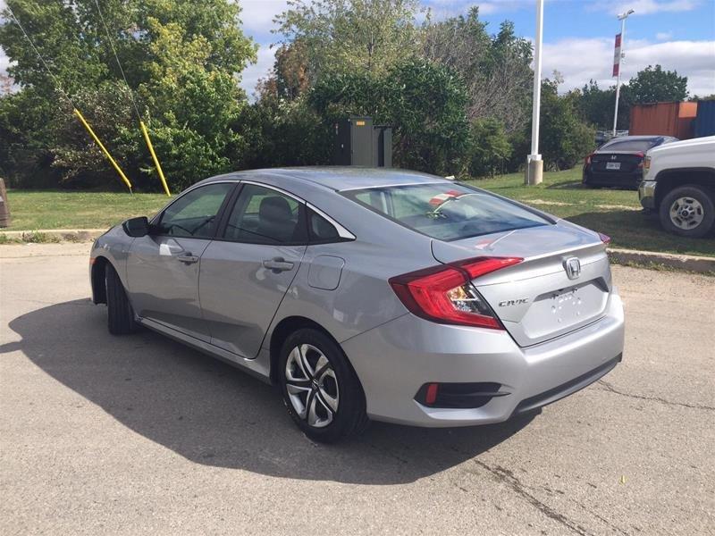2018 Honda Civic Sedan LX CVT in Mississauga, Ontario - 7 - w1024h768px