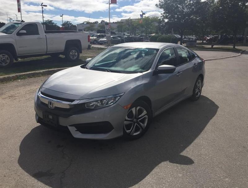 2018 Honda Civic Sedan LX CVT in Mississauga, Ontario - 1 - w1024h768px