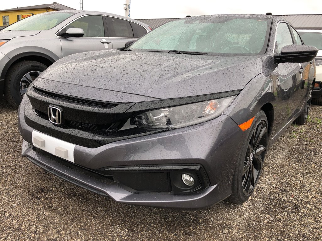 2019 Honda Civic Sedan Sport CVT in Mississauga, Ontario - 1 - w1024h768px