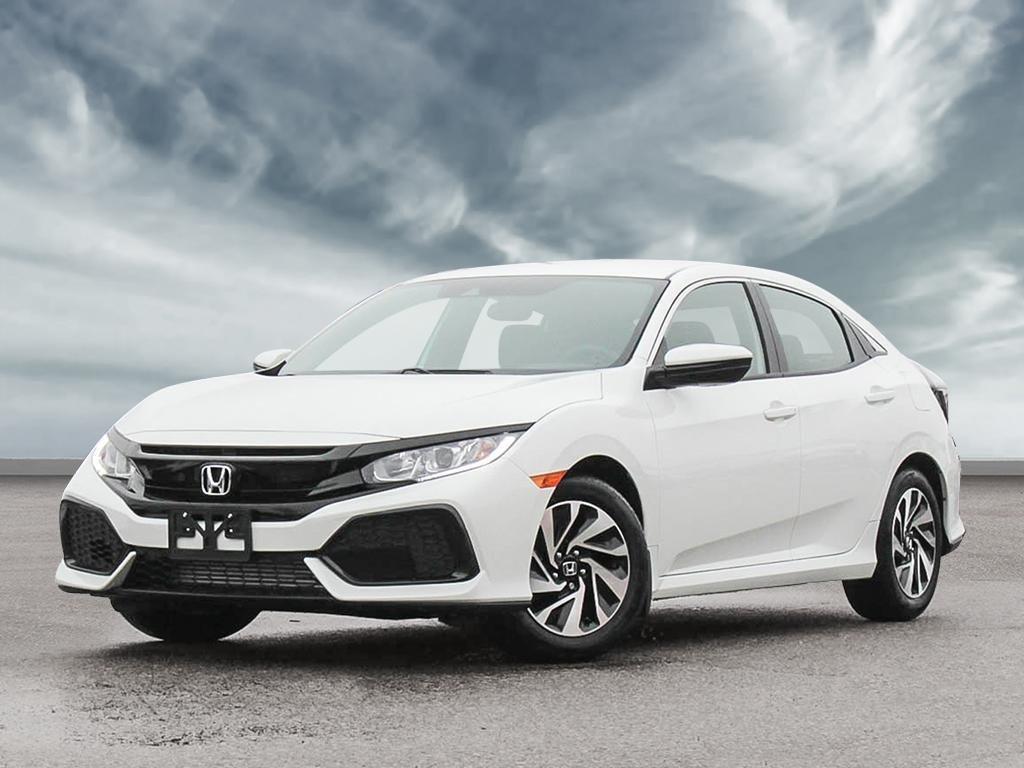 White Honda Civic >> Markham Honda | 2019 Honda Civic Hatchback LX CVT | #48237