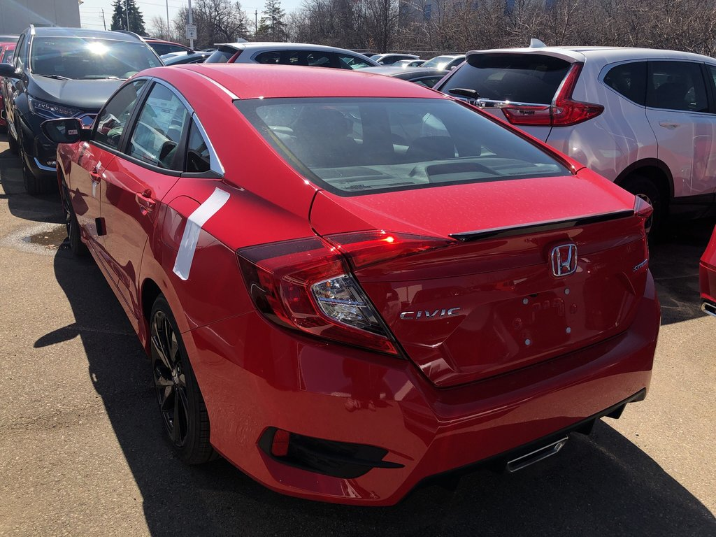 2019 Honda Civic Sedan Sport CVT in Oakville, Ontario - 4 - w1024h768px