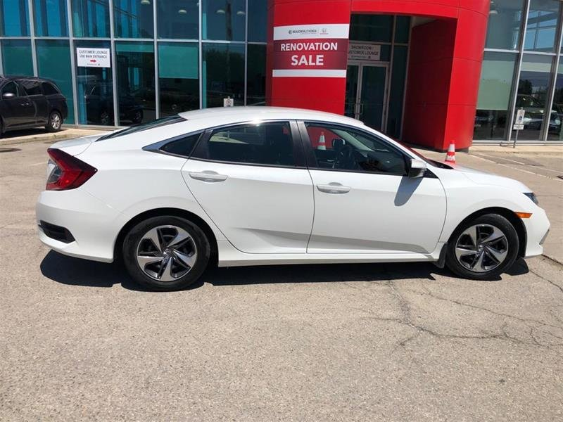 2019 Honda Civic Sedan LX CVT in Mississauga, Ontario - 4 - w1024h768px