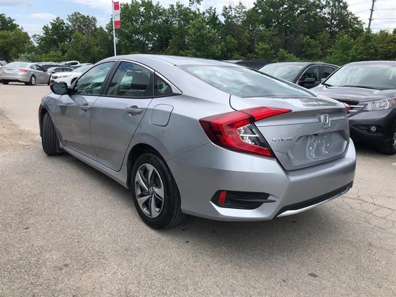 2019 Honda Civic Sedan LX CVT in Mississauga, Ontario - 7 - w1024h768px
