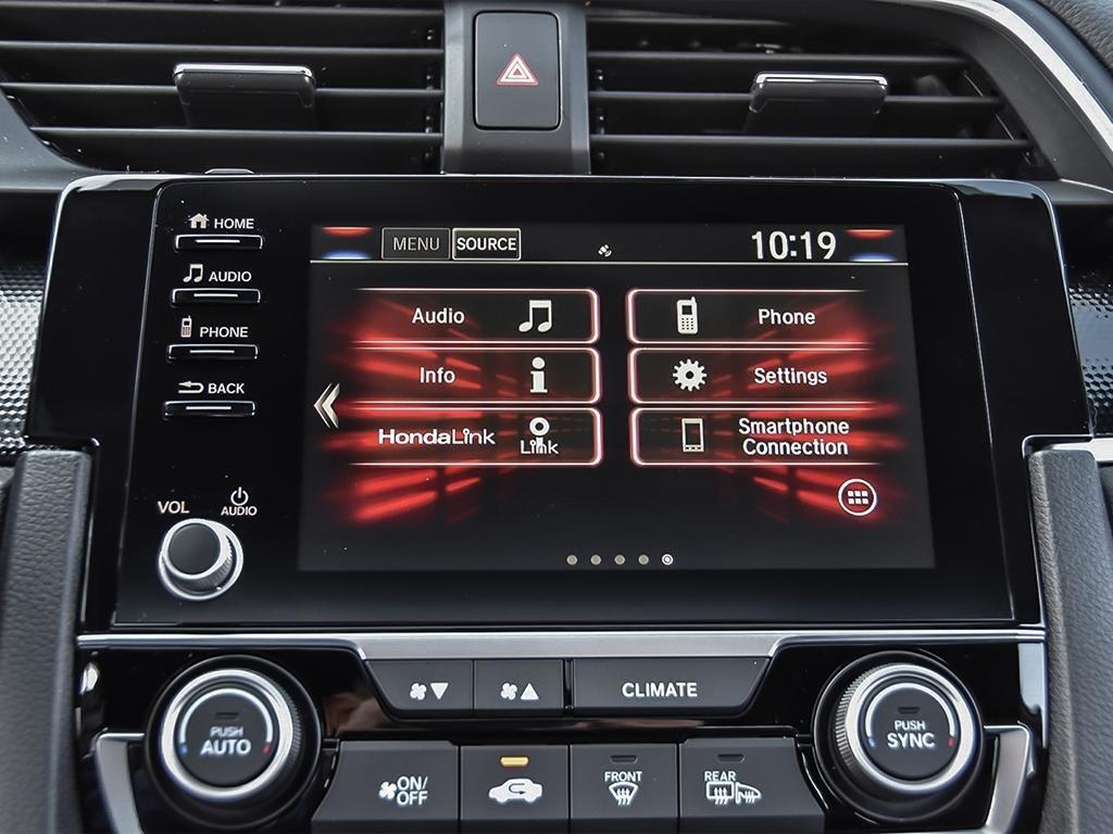 2019 Honda Civic Sedan Sport CVT in Mississauga, Ontario - 18 - w1024h768px