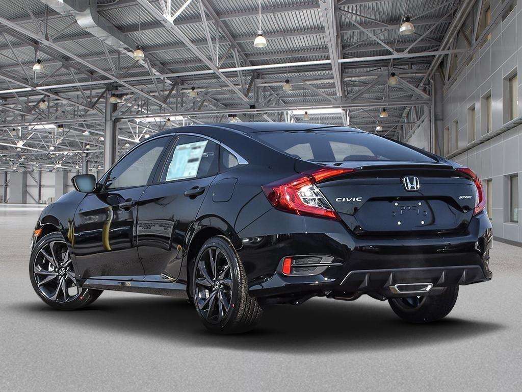 2019 Honda Civic Sedan Sport CVT in Mississauga, Ontario - 4 - w1024h768px
