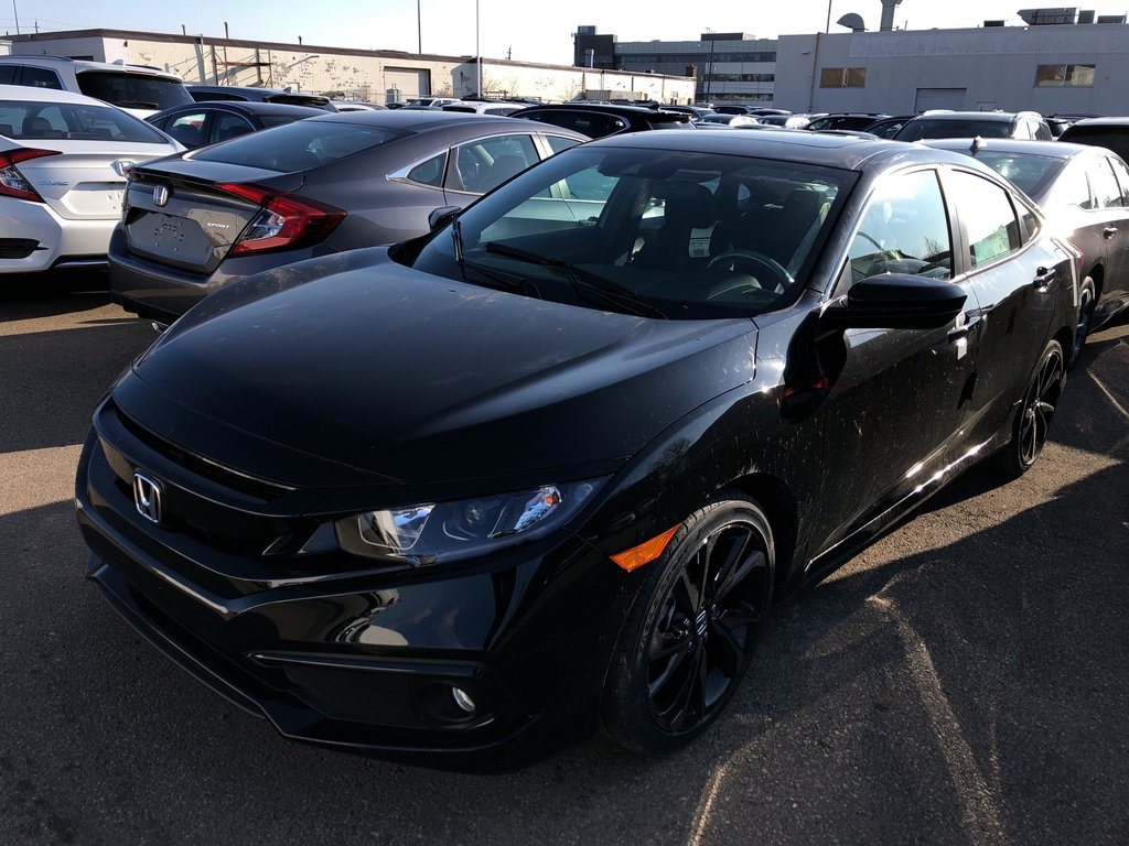 Oakville Honda 2020 Honda Civic Sedan Sport Cvt 101491