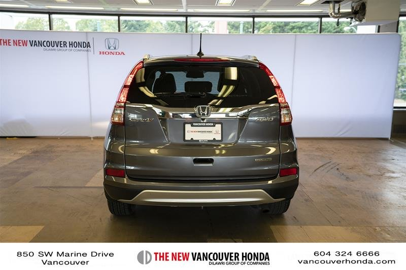 2016 Honda CR-V Touring AWD in Vancouver, British Columbia - 6 - w1024h768px