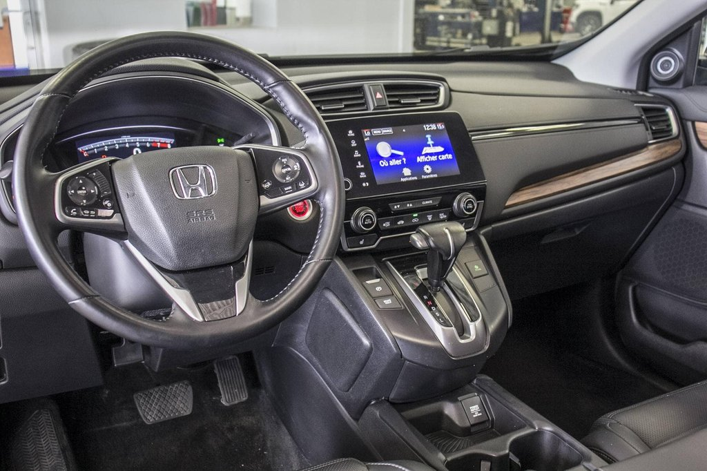 2018 Honda CR-V Touring **CUIR ** TOIT PANO ** GPS ** CAMERA ** in Dollard-des-Ormeaux, Quebec - 8 - w1024h768px