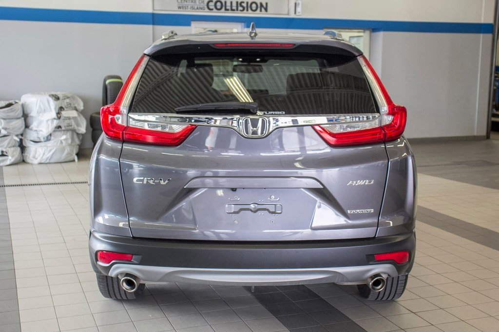 2018 Honda CR-V Touring **CUIR ** TOIT PANO ** GPS ** CAMERA ** in Dollard-des-Ormeaux, Quebec - 7 - w1024h768px