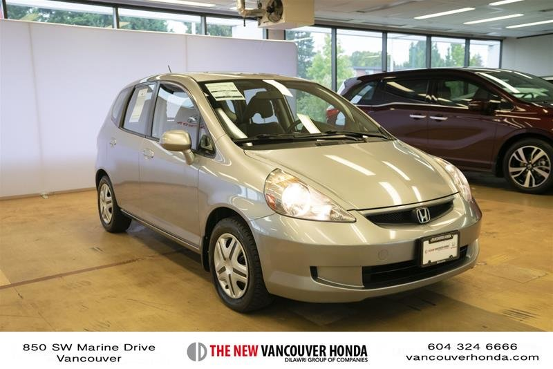 2008 Honda Fit Hatchback DX 5sp in Vancouver, British Columbia - 3 - w1024h768px