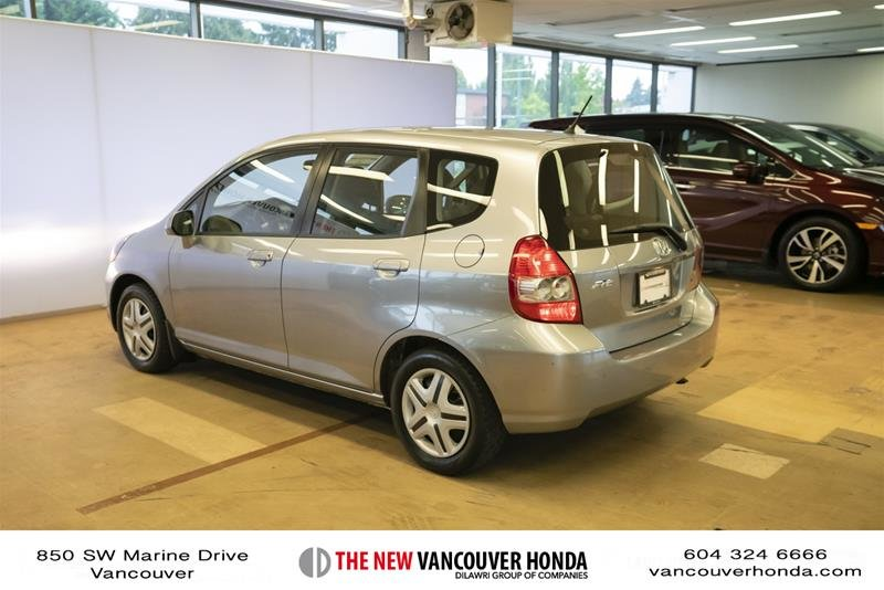 2008 Honda Fit Hatchback DX 5sp in Vancouver, British Columbia - 7 - w1024h768px