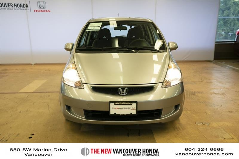 2008 Honda Fit Hatchback DX 5sp in Vancouver, British Columbia - 2 - w1024h768px