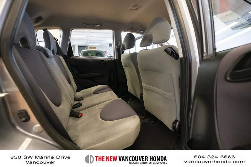 2008 Honda Fit Hatchback DX 5sp in Vancouver, British Columbia - 14 - w1024h768px