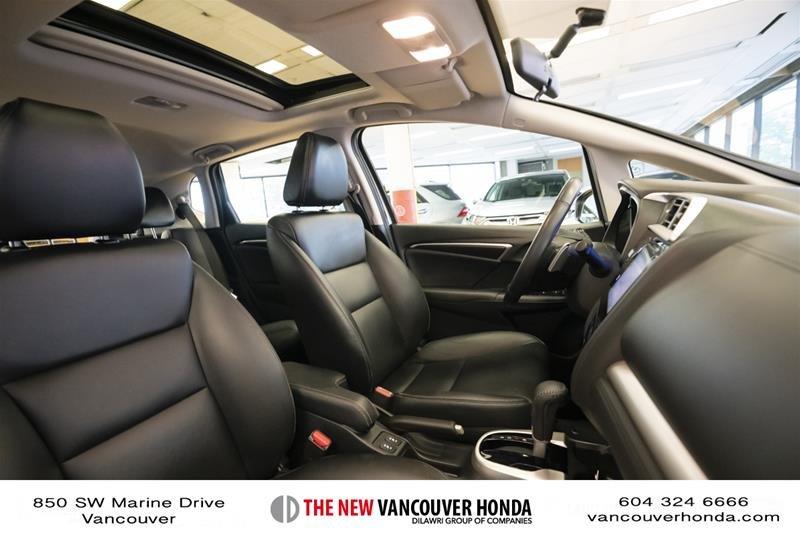 2015 Honda Fit EX-L Navi CVT in Vancouver, British Columbia - 17 - w1024h768px