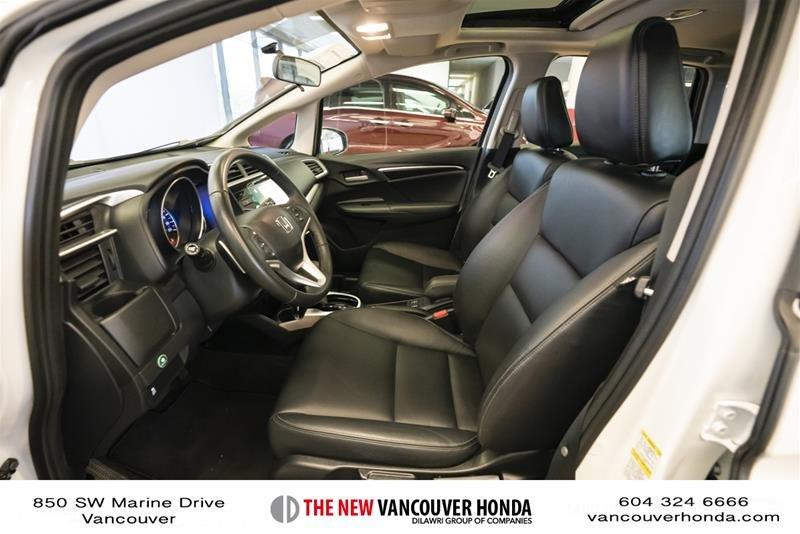 2015 Honda Fit EX-L Navi CVT in Vancouver, British Columbia - 10 - w1024h768px