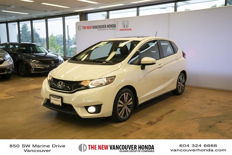 2015 Honda Fit EX-L Navi CVT in Vancouver, British Columbia - 1 - w1024h768px
