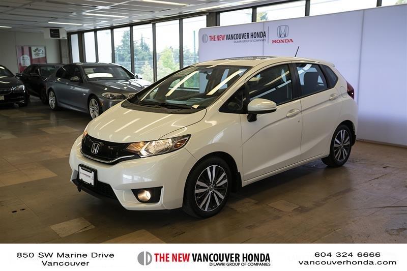 2015 Honda Fit EX CVT in Vancouver, British Columbia - 1 - w1024h768px