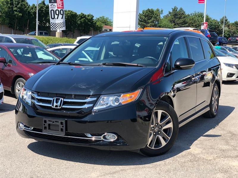2016 Honda Odyssey Touring in Mississauga, Ontario - 1 - w1024h768px