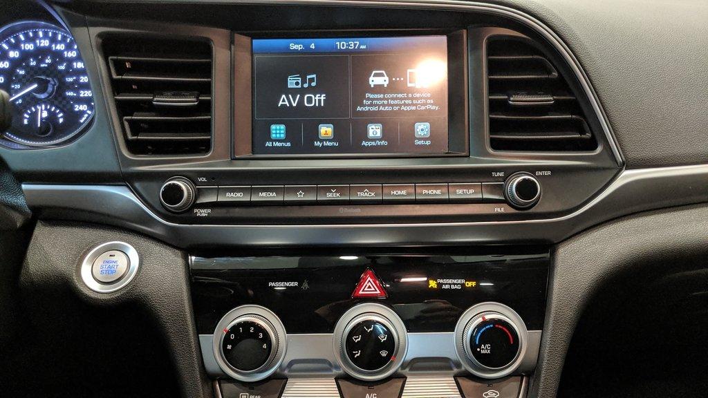 2019 Hyundai Elantra Sedan Preferred at Sun and Safety in Regina, Saskatchewan - 9 - w1024h768px