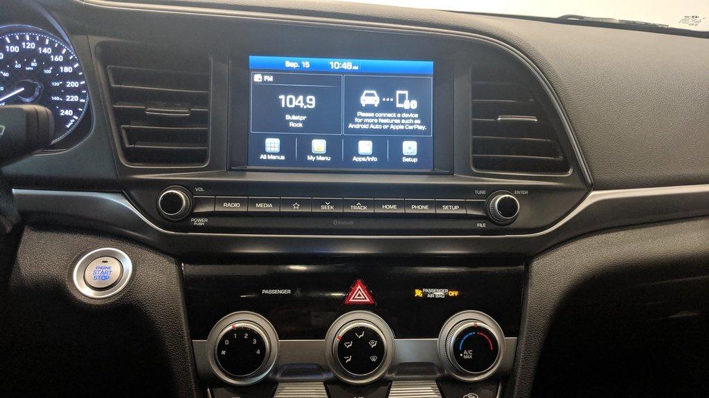 2019 Hyundai Elantra Sedan Preferred at Sun and Safety in Regina, Saskatchewan - 8 - w1024h768px