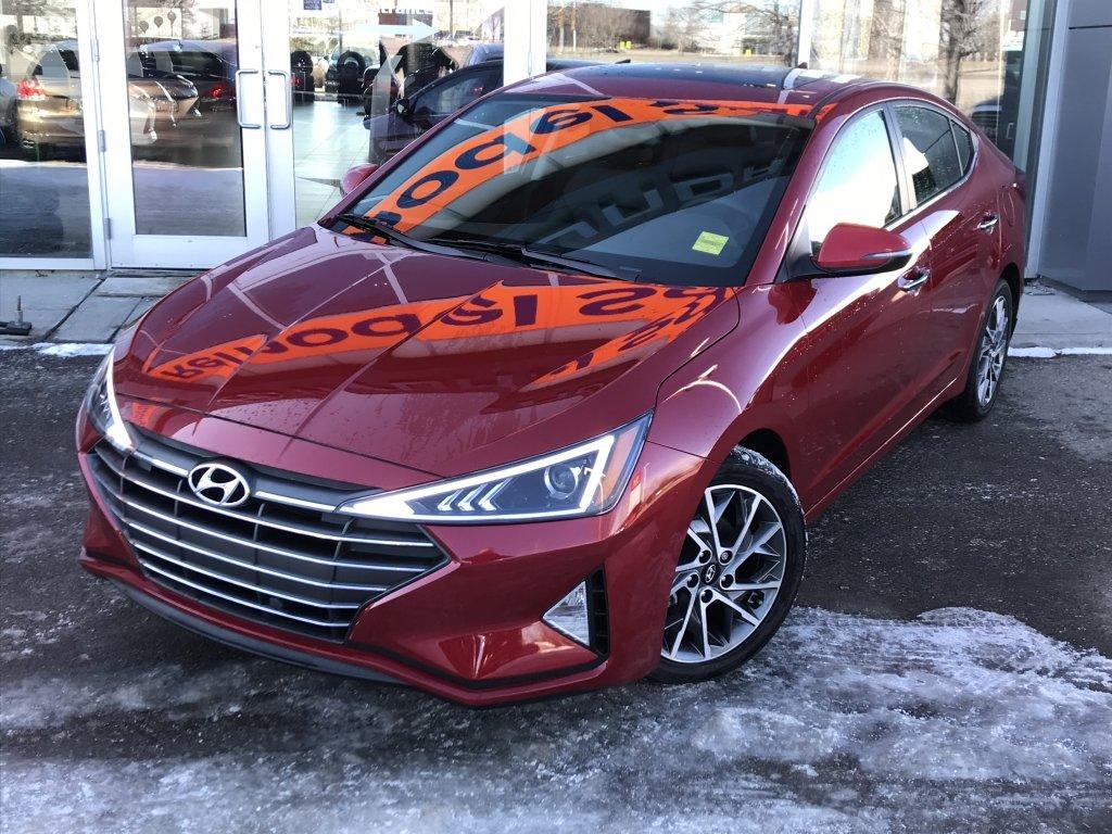 Hyundai Gallery | 2020 Hyundai Elantra Sedan Luxury IVT ...