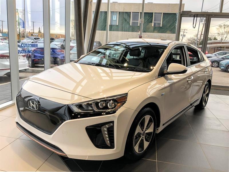 2019 Hyundai Ioniq Electric ULTIMATE w/ White Ext. in Regina, Saskatchewan - 1 - w1024h768px