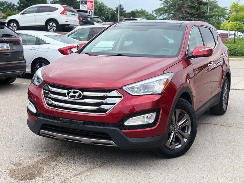 2013 Hyundai Santa Fe 2.4L AWD Luxury in Mississauga, Ontario - 18 - w1024h768px