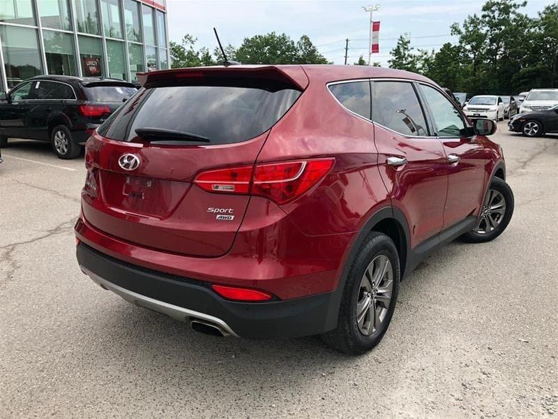 2013 Hyundai Santa Fe 2.4L AWD Luxury in Mississauga, Ontario - 22 - w1024h768px